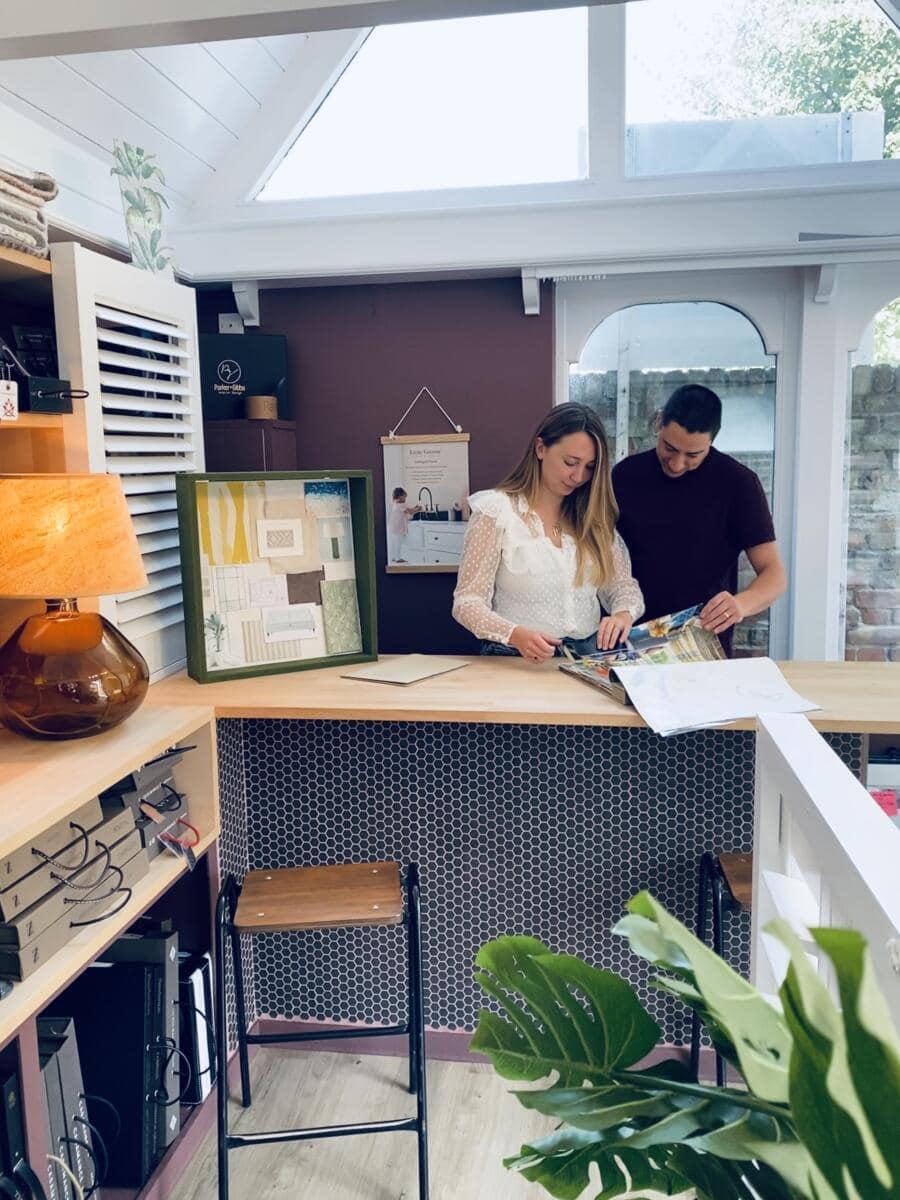 Interior design studio in Chichester Parker & Gibbs