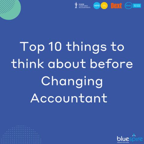 Changing Accountants