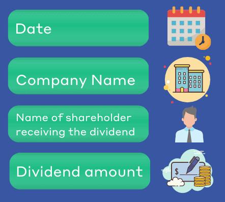 Dividend vouchers chichester accountants