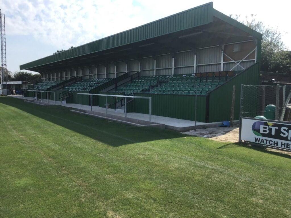 Bognor Regis Town FC Ground new stand Bognor Regis accountants