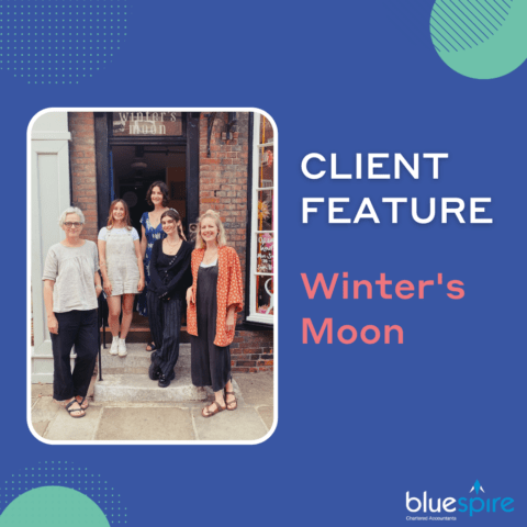 Winter's moon Chichester